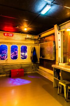 Escape Mission Enschede deep sea
